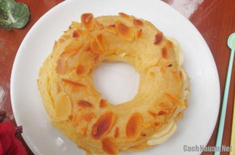 banh su kem vong xe 13 - Cách làm bánh su kem hình vòng xe thơm ngon mát dịu