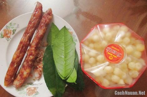 cach lam banh cha 1 - Cách làm bánh chả truyền thống thơm ngon
