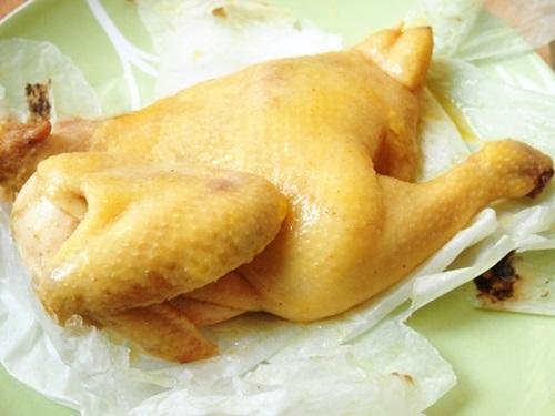 mon ga nuong muoi 8 - Cách làm gà nướng muối vừa ngon lại đơn giản