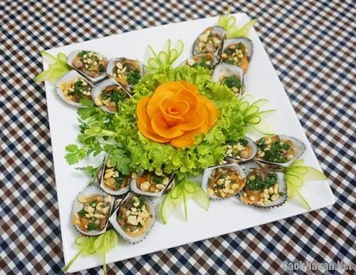 so long nuong mo hanh 51 - Cách làm sò lông nướng mỡ hành thơm nức mũi