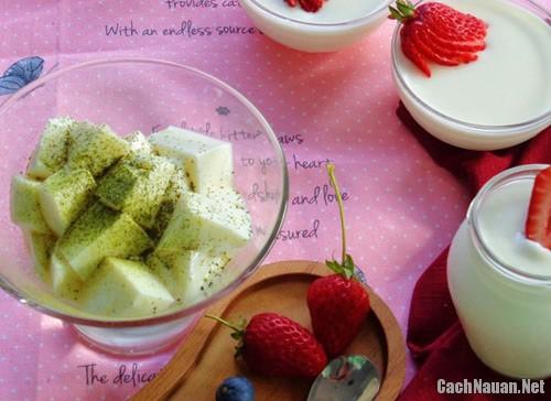 sua chua deo 91 - Cách làm món sữa chua dẻo đơn giản cho chị em