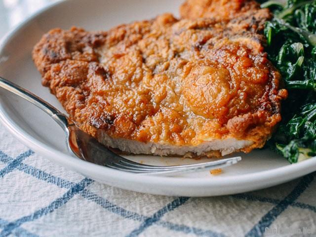 thit hep tam bot chien 31 - Cách làm món thịt heo tẩm bột chiên đầy hấp dẫn