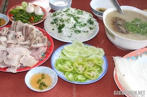 mon an dac san binh dinh 4 - 10 món ăn đặc sản nổi tiếng của miền đất võ Bình Định