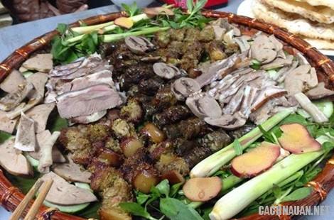 mon an dac san phu tho 9 - 10 món ăn đặc sản nổi tiếng của vùng đất tổ Phú Thọ