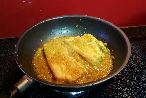 thit ba chi khia sot 1 - Cách làm món thịt ba chỉ khìa sốt táo ngò