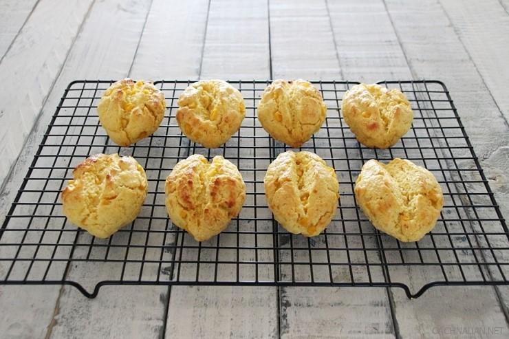Cách làm bánh ngô kiểu mới cực ngon