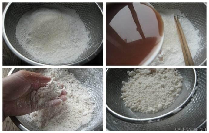 Cách làm món bánh đậu đỏ hấp dẻo mềm