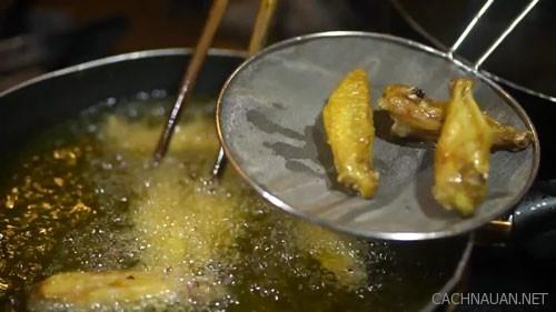 Cách làm món cánh gà sốt me chua ngọt