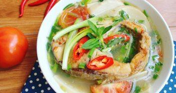 Các nấu món canh cá măng chua đậm đà cho bữa cơm cuối tuần