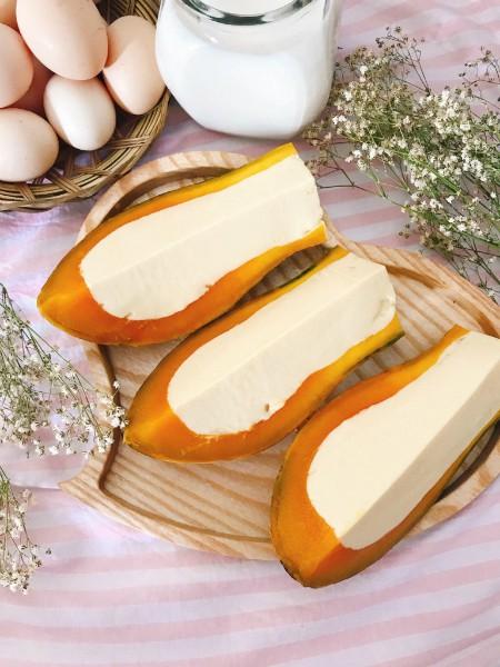 cach lam banh flan hap bi do trang mieng bua toi - Cách làm bánh flan hấp bí đỏ tráng miệng bữa tối