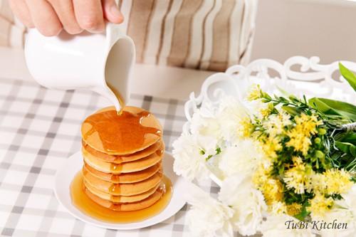 cach lam banh pancake thom nuc mui cho ca nha bua sang - Cách làm bánh pancake thơm nức mũi cho cả nhà bữa sáng