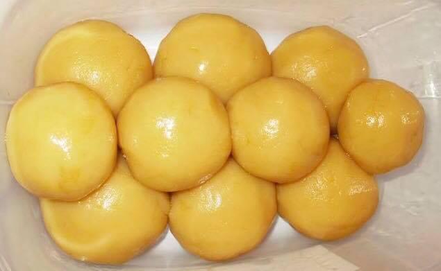 cach lam banh trung thu chay khong can lo nuong 3 - Cách làm bánh trung thu chay không cần lò nướng