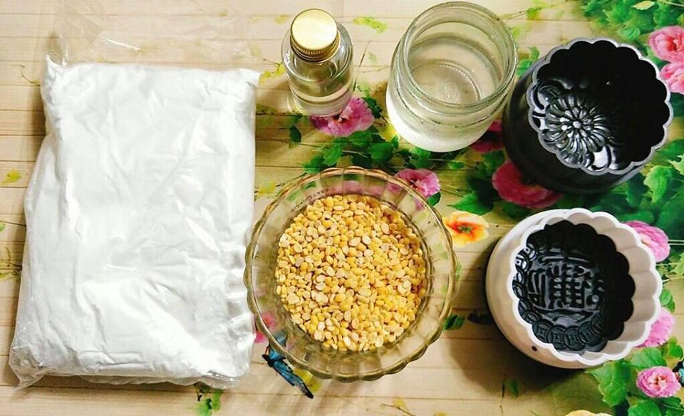 Cách làm bánh trung thu chay không cần lò nướng