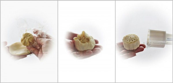 cach lam banh trung thu deo nhan sau rieng thom lung 4 - Cách làm bánh trung thu dẻo nhân sầu riêng thơm lừng