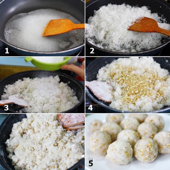 cach lam banh trung thu nuong nhan sua dua thom ngay - Cách làm bánh trung thu nướng nhân sữa dừa thơm ngậy