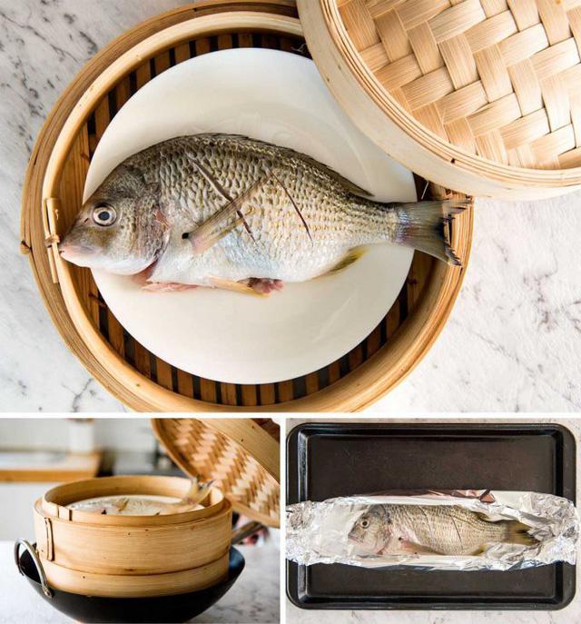 cach lam ca hap vua ngon vua nhanh lai khong lo dau mo 1 - Cách làm cá hấp vừa ngon vừa nhanh lại không lo dầu mỡ