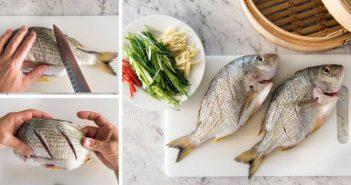 Cách làm cá hấp vừa ngon vừa nhanh lại không lo dầu mỡ