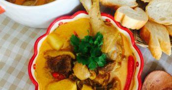Cách làm cà ri vịt nóng hổi, vừa thổi vừa ăn