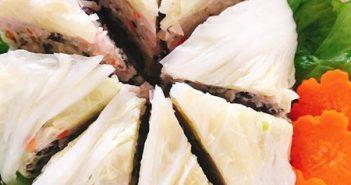 Cách làm cải thảo cuộn thịt hấp ngọt ngon