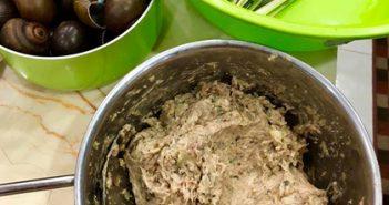 Cách làm món chả ốc lá lốt ngon mà dễ làm trong 30 phút