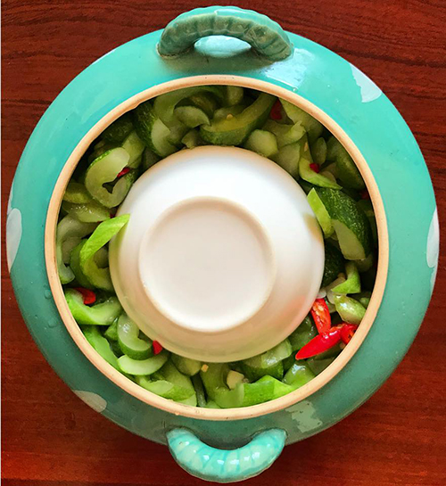 Cách làm món dưa leo muối chua giòn