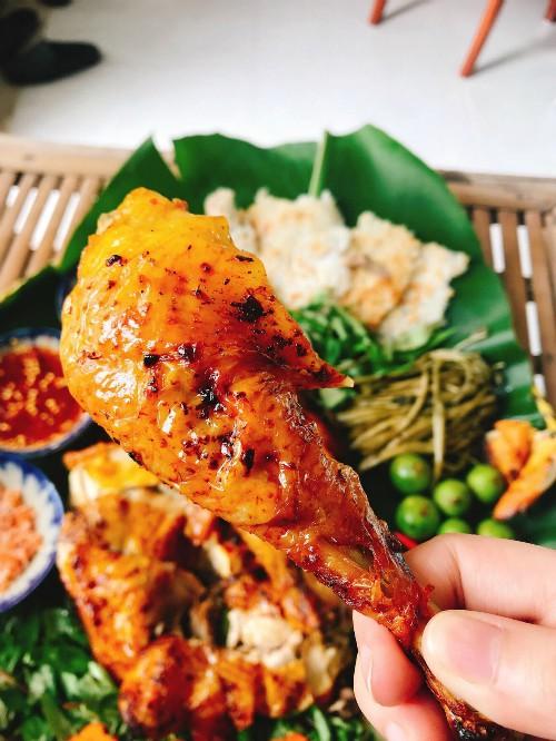 Cách làm món gà nướng ngũ vị hương cho cả nhà