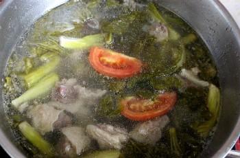 cach lam mon gan bo ham dua cai chua ngot ngon mieng 5 - Cách làm món gân bò hầm dưa cải chua ngọt ngon miệng