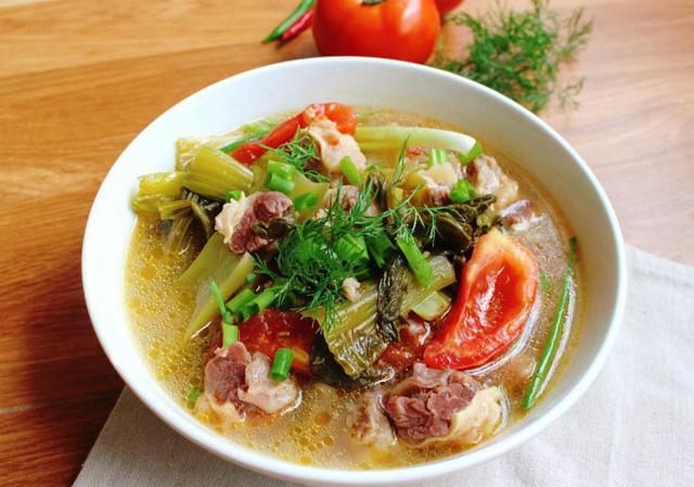 Cách làm món gân bò hầm dưa cải chua ngọt ngon miệng