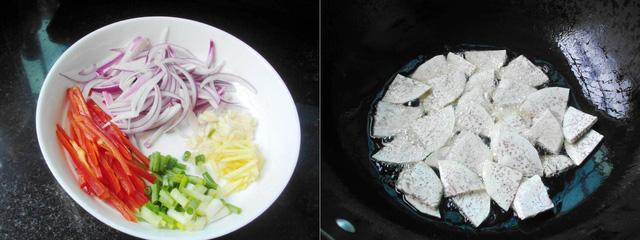 cach lam mon khoai mon xao chay ngon bat ngo 1 - Cách làm món khoai môn xào chay ngon bất ngờ