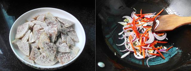 cach lam mon khoai mon xao chay ngon bat ngo 2 - Cách làm món khoai môn xào chay ngon bất ngờ