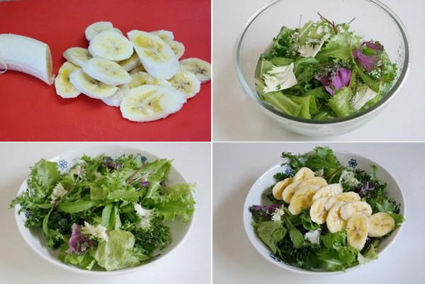 cach lam mon salad chuoi cuc don gian 1 - Cách làm món salad chuối cực đơn giản