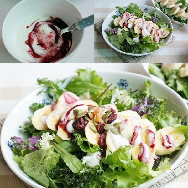 cach lam mon salad chuoi cuc don gian 2 - Cách làm món salad chuối cực đơn giản