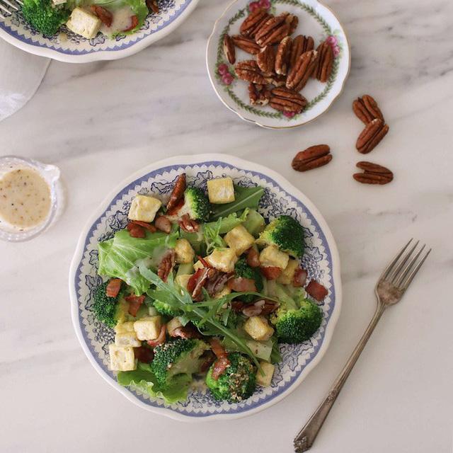 cach lam salad sup lo ngon la mieng lai co tac dung giam can 5 - Cách làm salad súp lơ ngon lạ miệng lại có tác dụng giảm cân