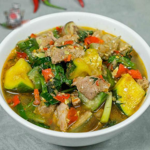 Cách nấu canh thịt heo bí ngô thơm ngon