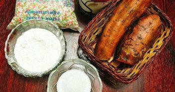 Cách nấu chè khoai lang dẻo trân châu bột báng ngon ngất ngây